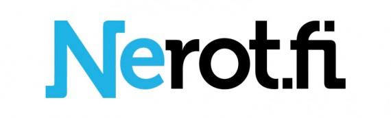 Nerot.fi uusi logo ja kilpailun voittaja
