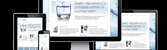 Kotisivujen päivitys: Case WaterPost.fi